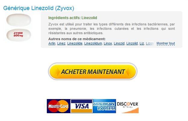 Linezolid Livraison Pharmacie Belgique