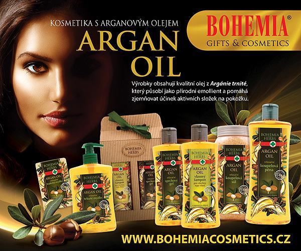 Kosmetika s arganovým olejem