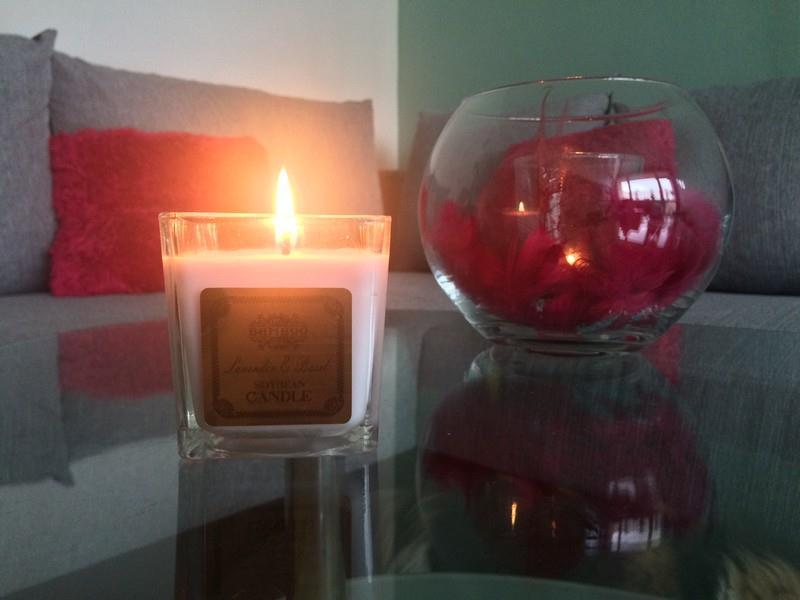 Bamboo sojová vonná svíčka
