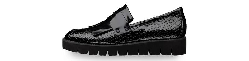 Elegantní černé boty - Tamaris