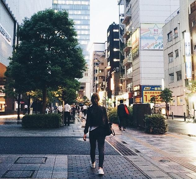 Weronika na násvštěvě v Tokiu