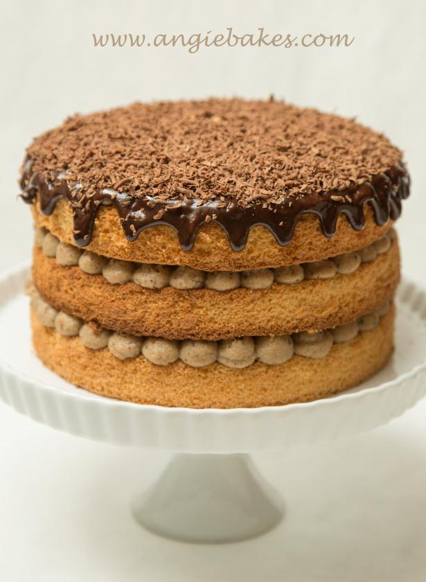 Kaštanový dort