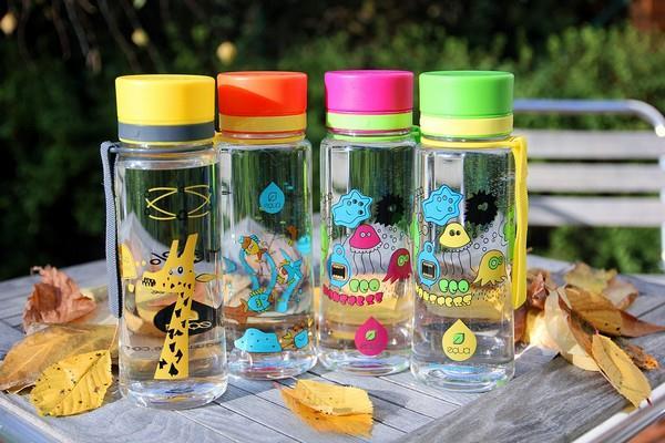 EQUA lahve jsou přírodou odbouratelné